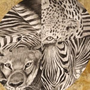 Eyes of Africa - circle of eyes