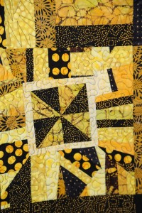 Yellow and Black detail 2
